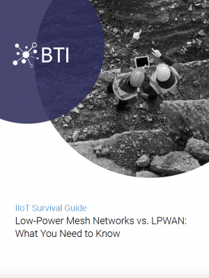 Mesh vs LPWAN