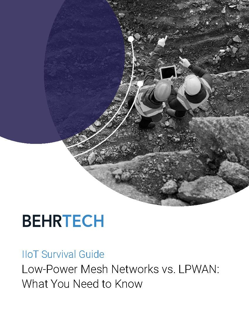 LPWAN vs. Mesh