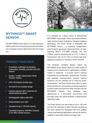 MYTHINGS Smart Sensor