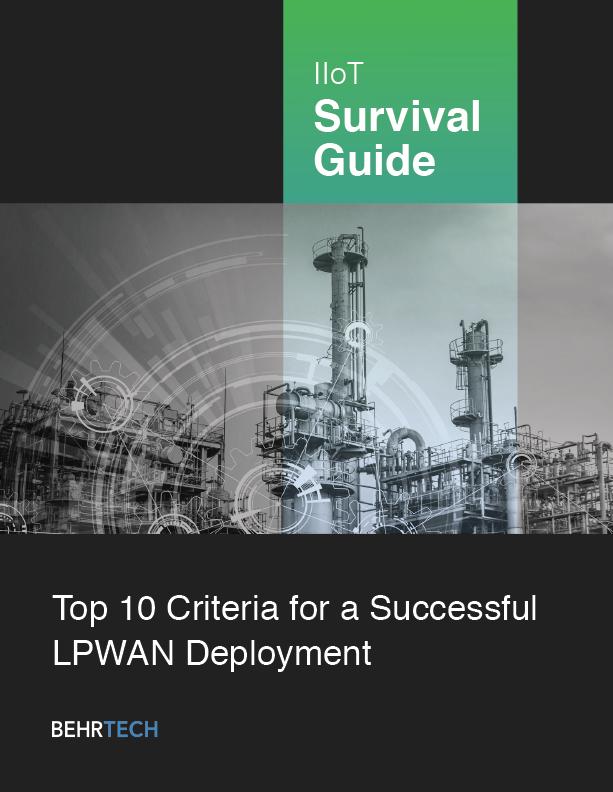 LPWAN Deployment Criteria