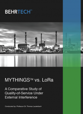 MYTHINGS vs LoRa