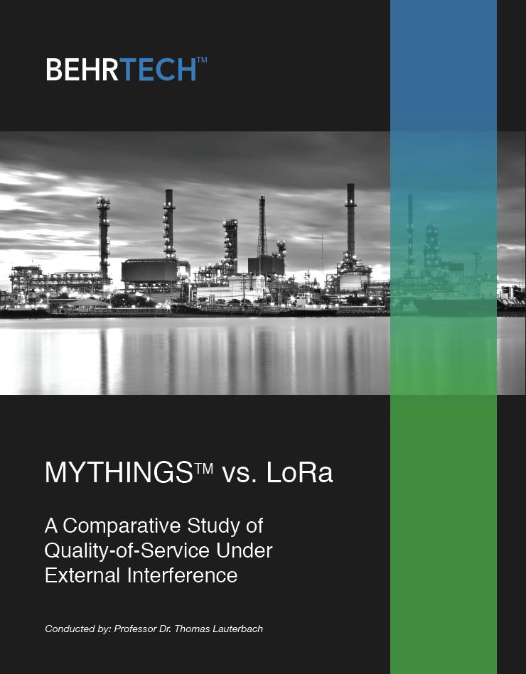 LPWAN - MYTHINGS vs LoRa
