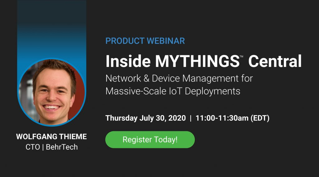 [Product Webinar/> Inside MYTHINGS Central