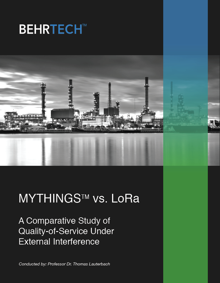 LPWAN - MYTHINGS vs LoRa