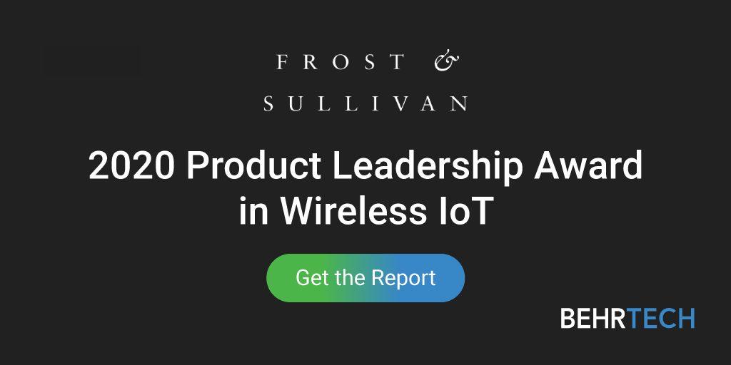 Wireless IoT Product Leadership Award